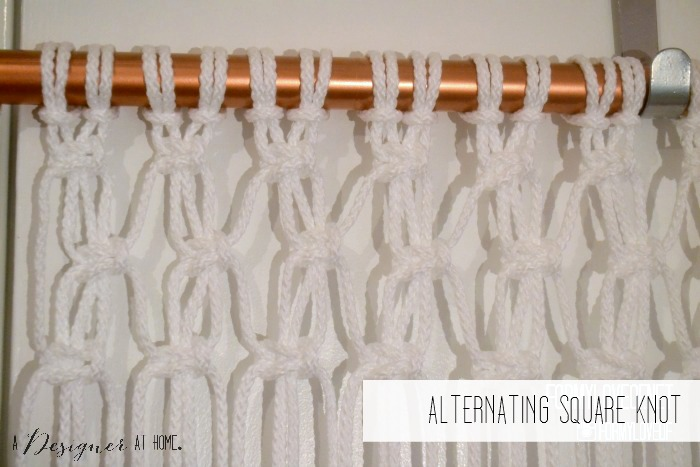 alternating square knots after square knots