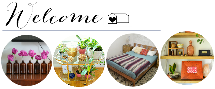 welcome to a designer at home glimpse