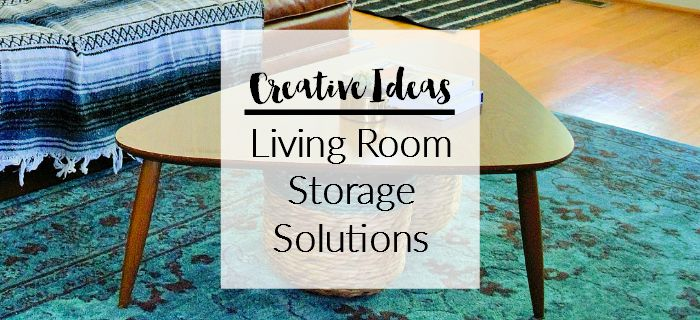 Creative ideas for living room storage
