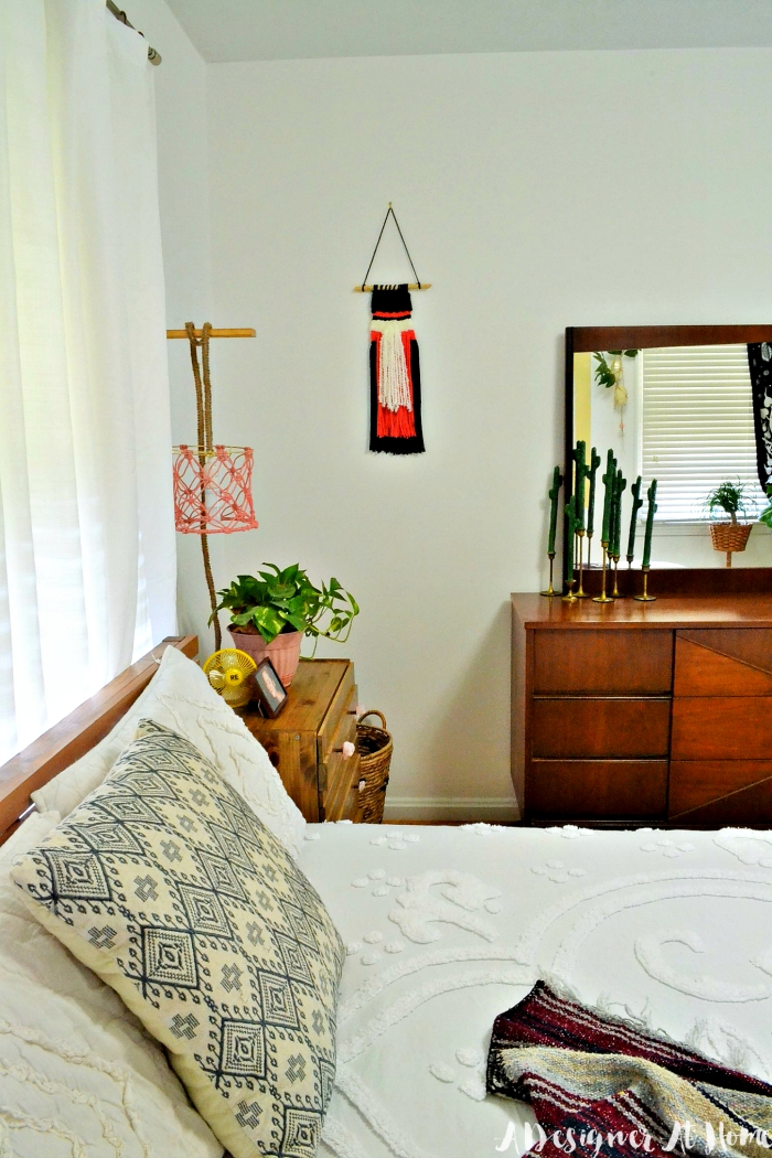 Bohemian Master Bedroom In A Small Home  Room Reveal (lots On DIY And  Vintage