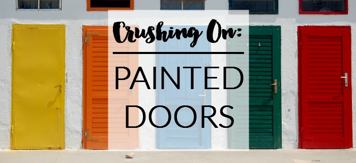 Crushing On: Painted Interior Doors