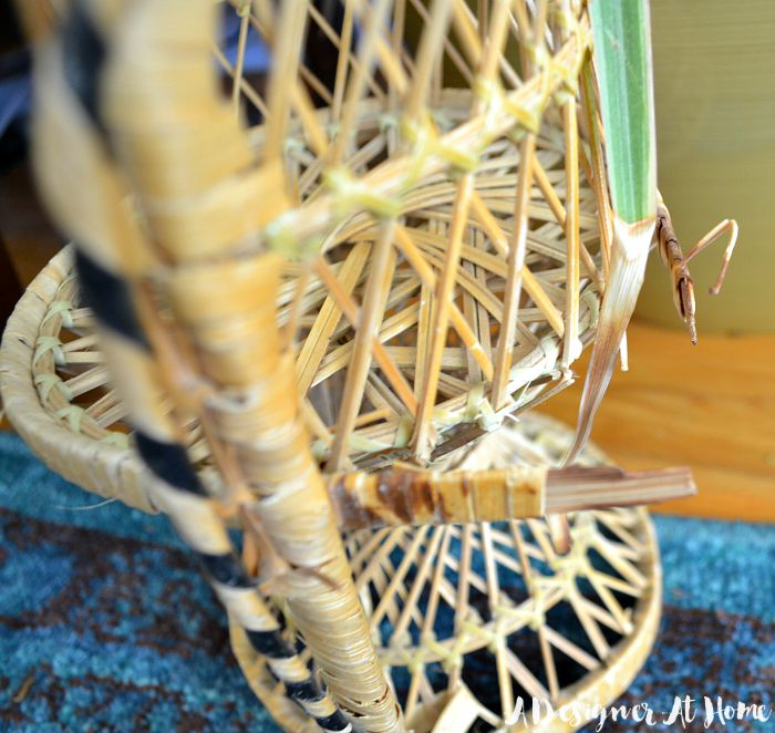 50-cent-fanback-doll-chair-wicker-damage