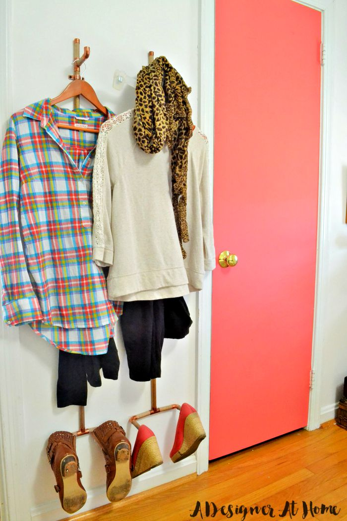 Zdiy-outfit-planning-vertical-wall-system-fall-outfit-planning-fashion-coral-painted-door-bohemian-bedroom-room-reveal
