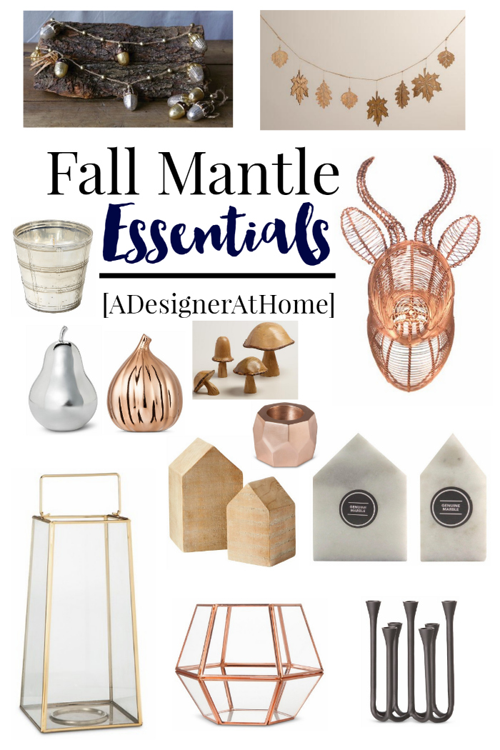 Fall Mantle Essentials for Autumn 2015