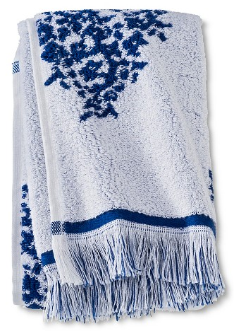 blue-fringe-bath-towel