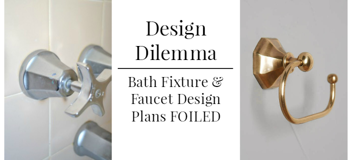 Design Dilemma- how we handled out faucet design plans being foiled by SCALD GUARD