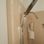 How to remove sliding shower doors without damaging tile