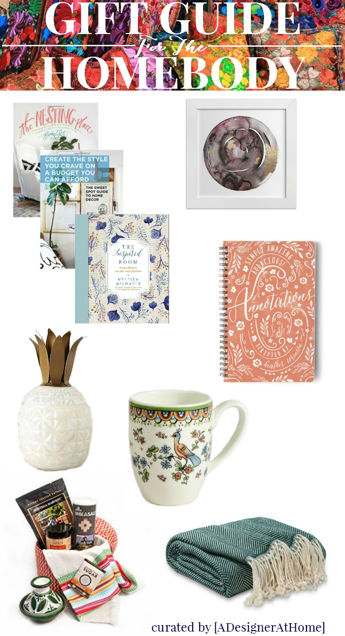 Gift Guide for the HOMEBODY in your life. Great gifts that make being home enjoyable for birthdays holidays and anytime