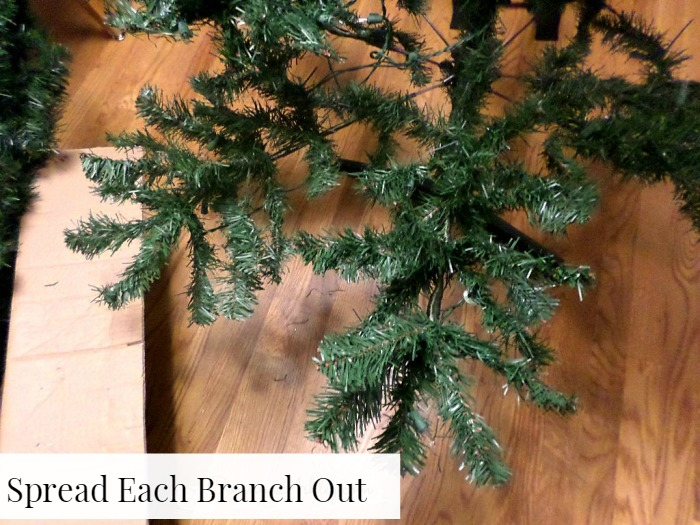 Get The Most Out Of a Cheap Christmas Tree - A Designer At Home