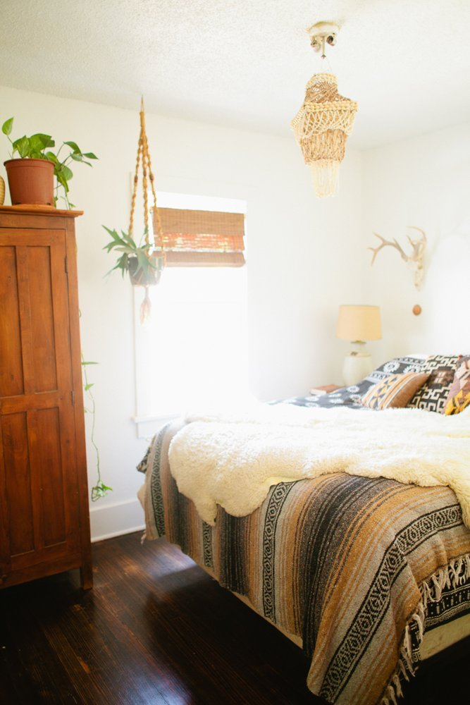 Lauren and Stiles' Southwest Bohemian Colorado Homestead via Apartment Therapy