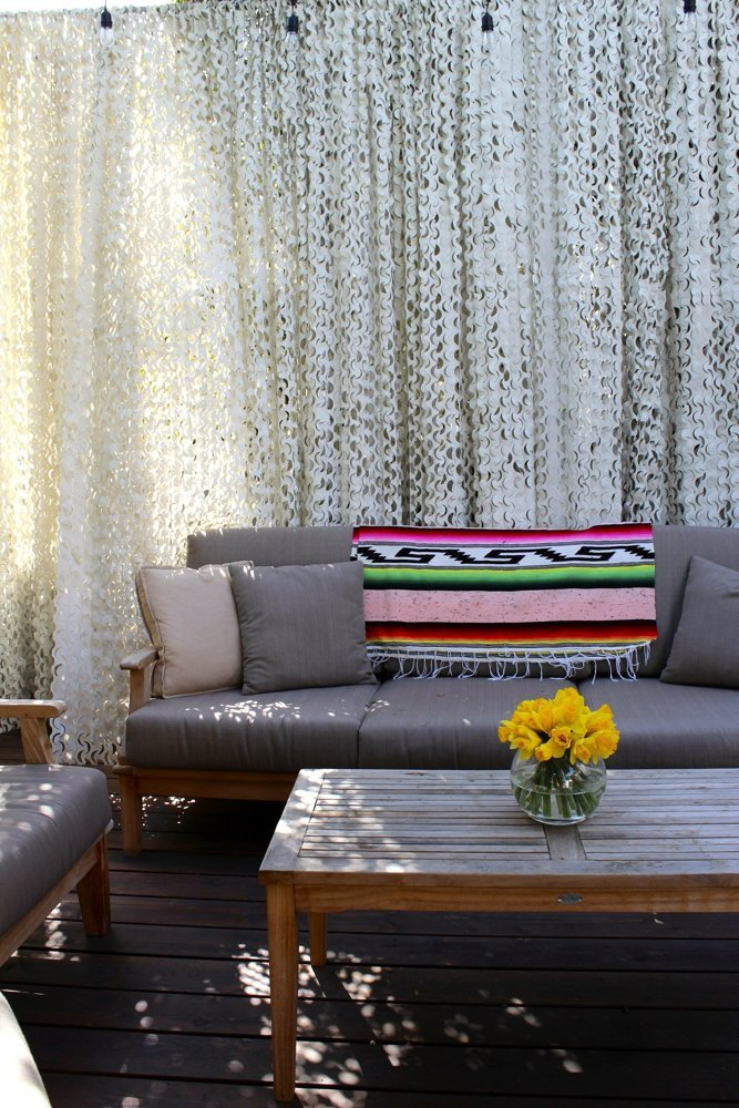 Carrie & Hal's Modern Bohemian Home via Apartment Therapy