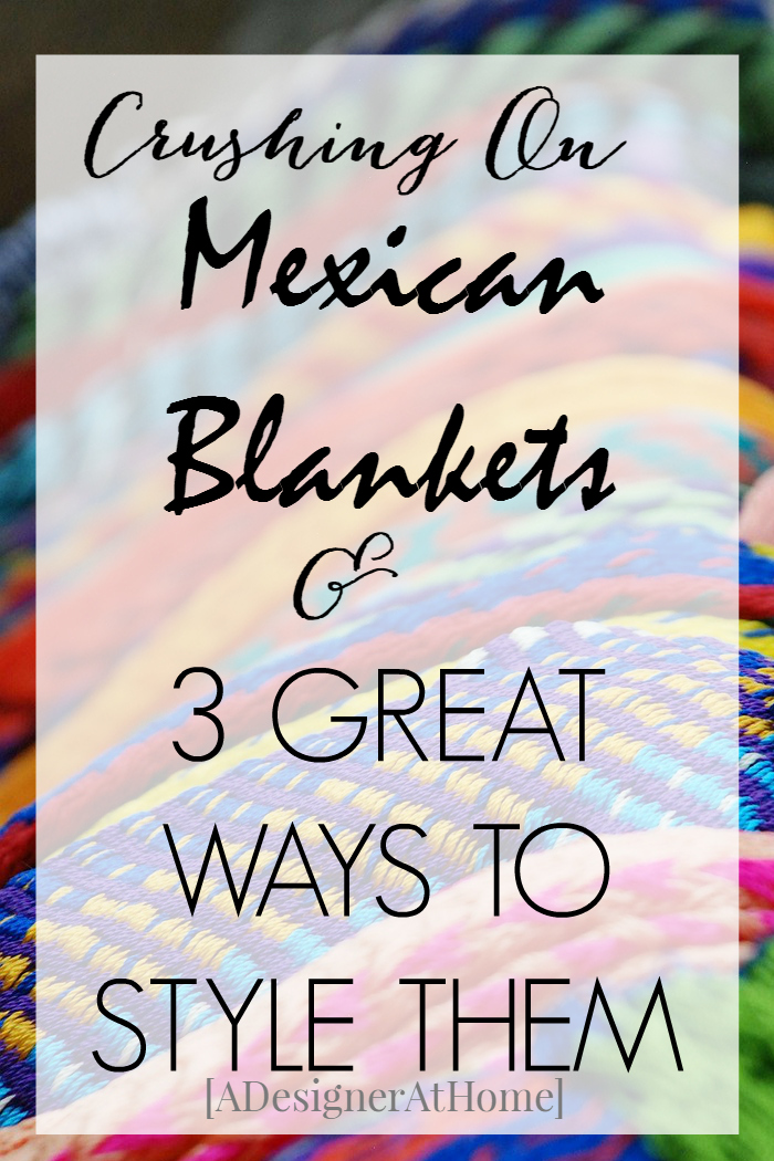 Decor Obsession Mexican Blankets are versatile and beautiful. Add beautiful color and texture to your decor.