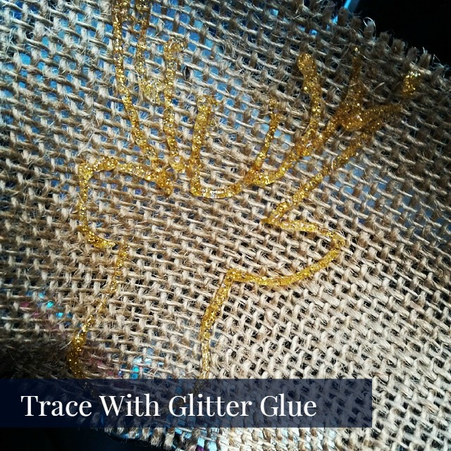 Burlap and Twine Holiday Garland tutorial