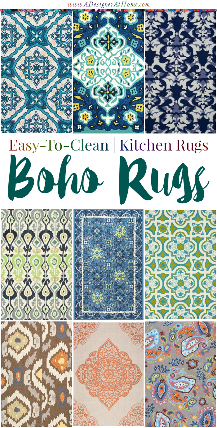 Easy To Clean Rug For The Kitchen  Oh So Boho!