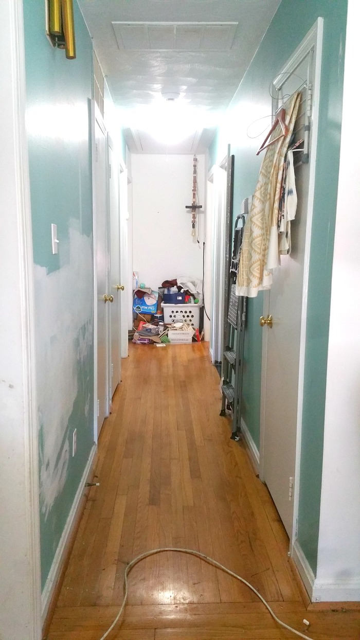 long hallway decorating makeover