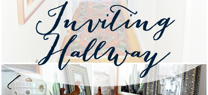 Cozy Changes for an Inviting Hallways