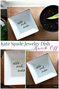 kate spade jewelry dish knock off featuring odds and ends via a designer at home