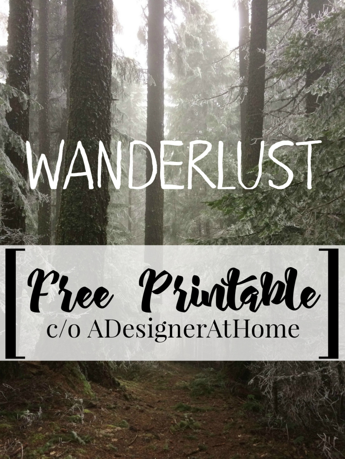 world market wanderlust inspired printable - get the scaled down look- perfect for interchangeable frames!