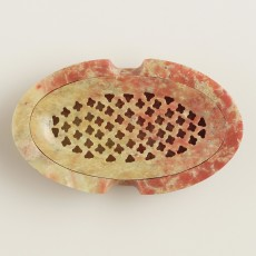 Soapstone Soap Dish with Lid $7.99