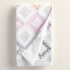Geometric Dylan Sculpted Hand Towel $9.99