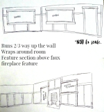 Wainscotting Plans & Lighting
