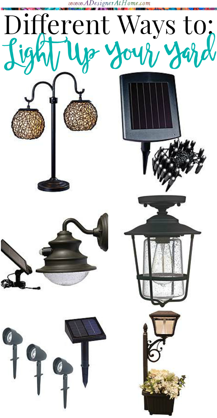 Different Ways to Light Up A Yard