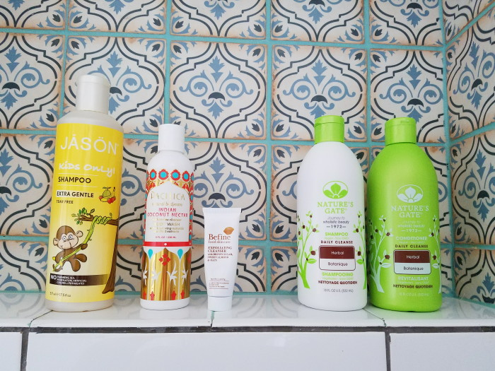 Earth, animal and skin friendly bath products