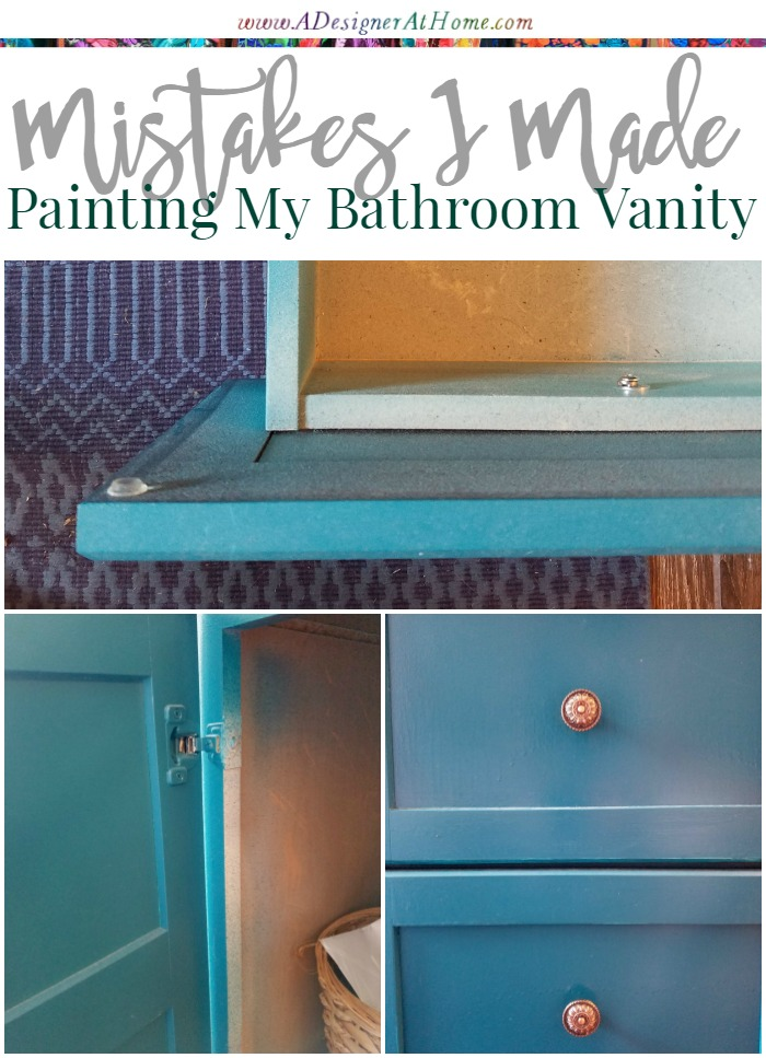 3 mistakes i made painting my bathroom vanity