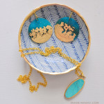 DIY-Gold-Gilded-Earrings-Jewelry-Bowl-Tutorial-madeinaday.com_