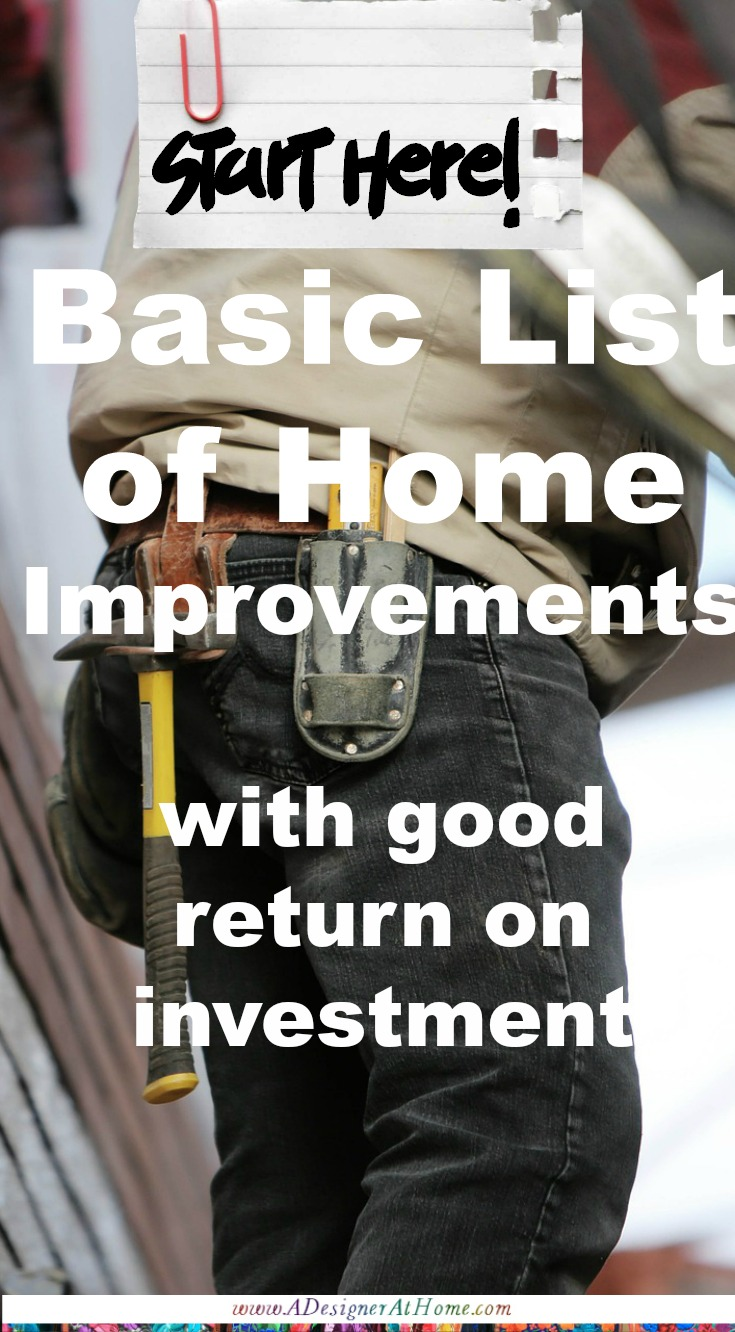 basic-list-of-home-improvements-with-good-return-on-investment