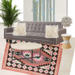 $1000 Bohemian Living Room Design Airy Cali Style