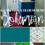 Get The Look Bohemian Bathroom Teals And Reds And Plants For Any Room