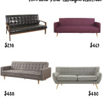 Sofas Under $500 (prices fluctuate based on sales) Favorites from a designer at home
