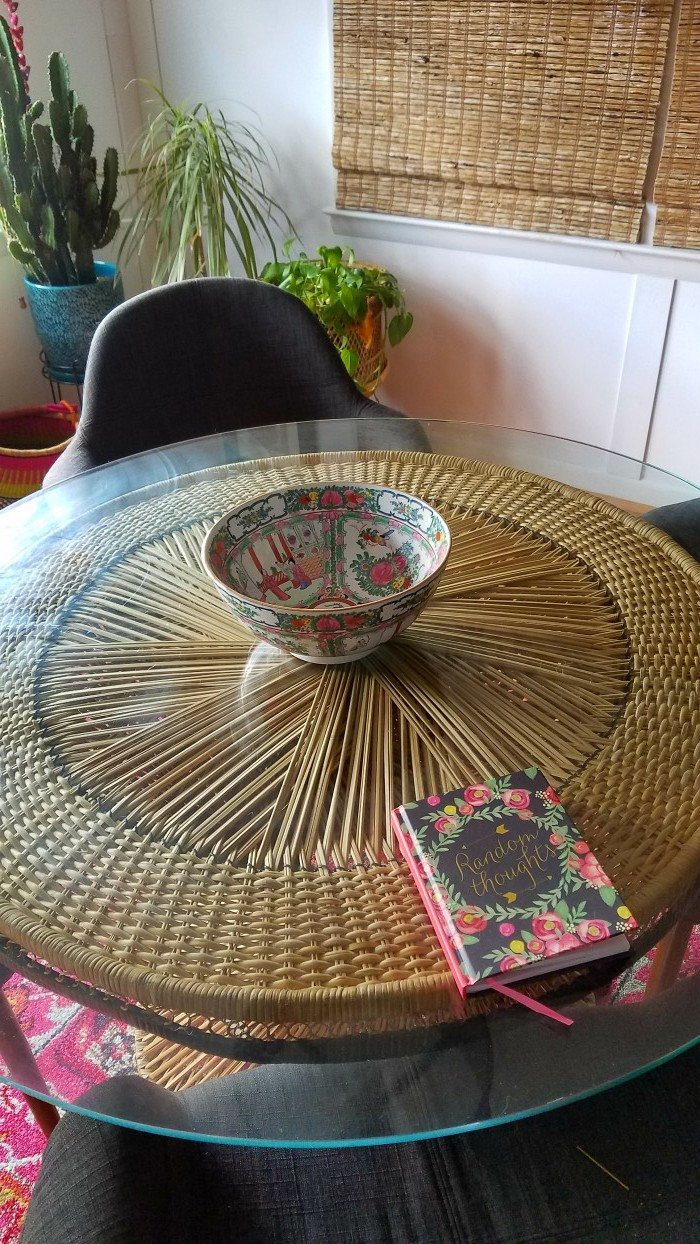 Pink and Green   Tropical and Modern   Global and Thrifted   Dining Room   Airy Bohemian Dining Room Decor   Cali Style