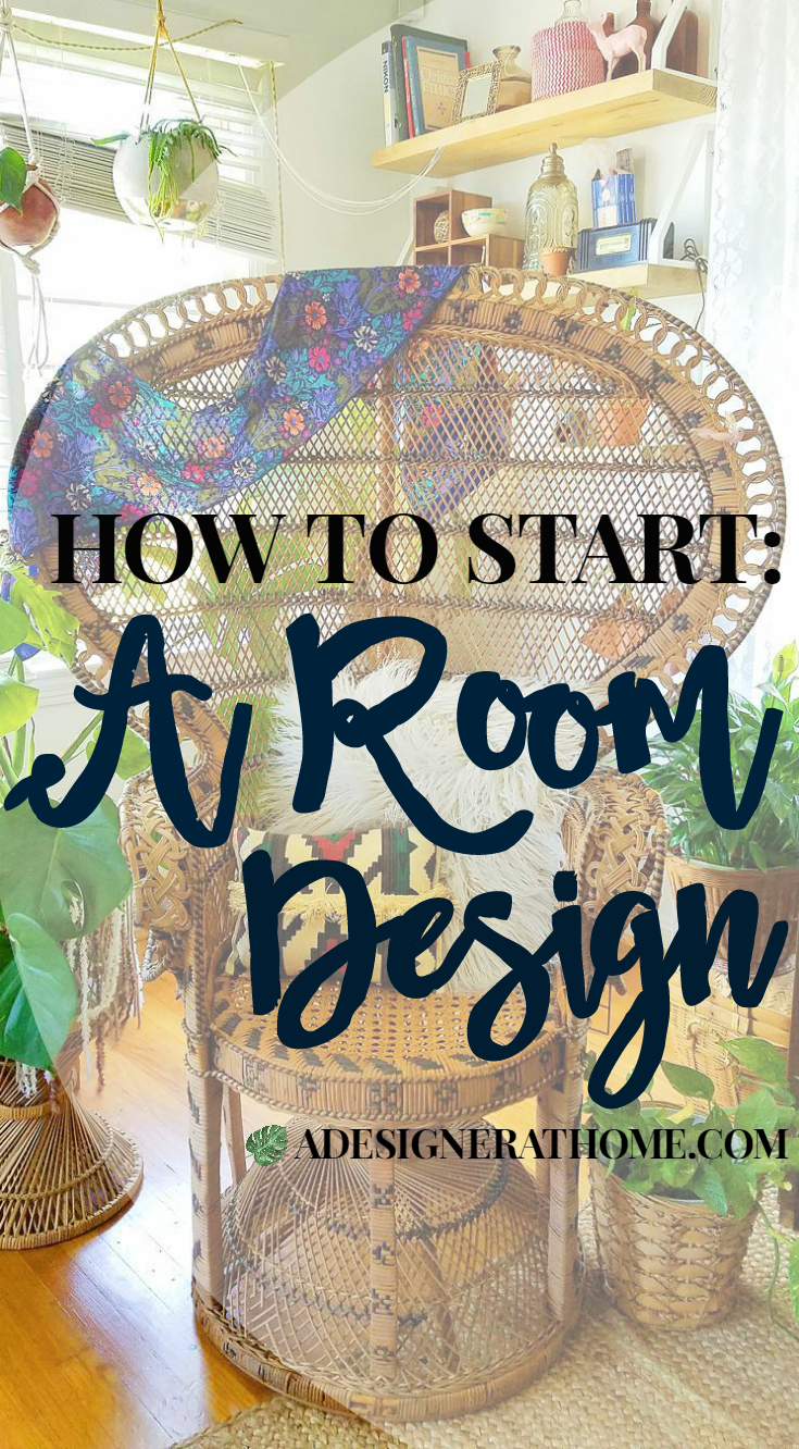 How To Start A Room Design Starting to decorate a space, a solution for getting stuck in styling spaces
