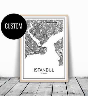 Custom City Art Print