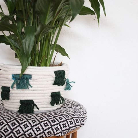 Global Style DIY Woven Basket