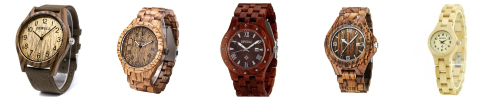 Wood Watches Under $35 - 5 more!