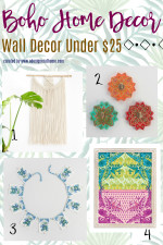 Budget Boho Style: Bohemian Wall Decor Under $25