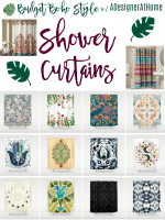 Boho Shower Curtains