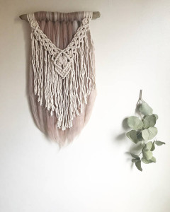 Driftwood Base Wall Hanging- TheFiberCollective