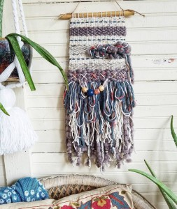Muted beaded wall hanging - Six1One_