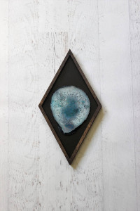 Diamond Framed Agate Art- Mod North and Co