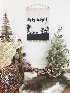 Holy Night Flag - Declaration Home