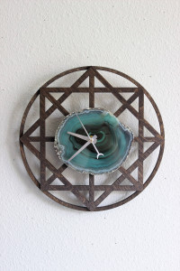 Mint Green Wall Clock - Mod North and Co