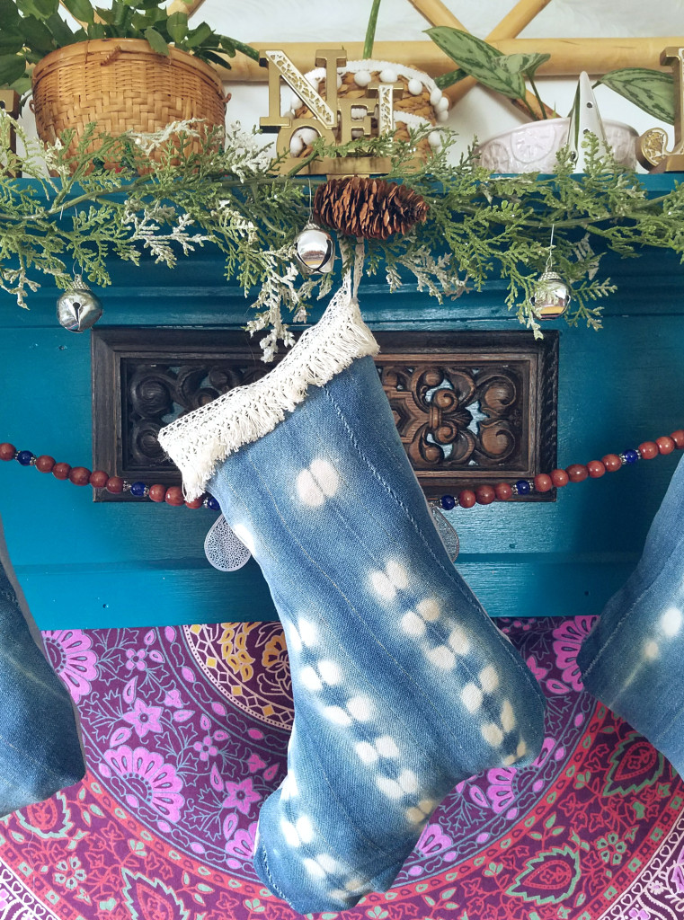 Indigo-mudcloth-stocking-diy-tutorial
