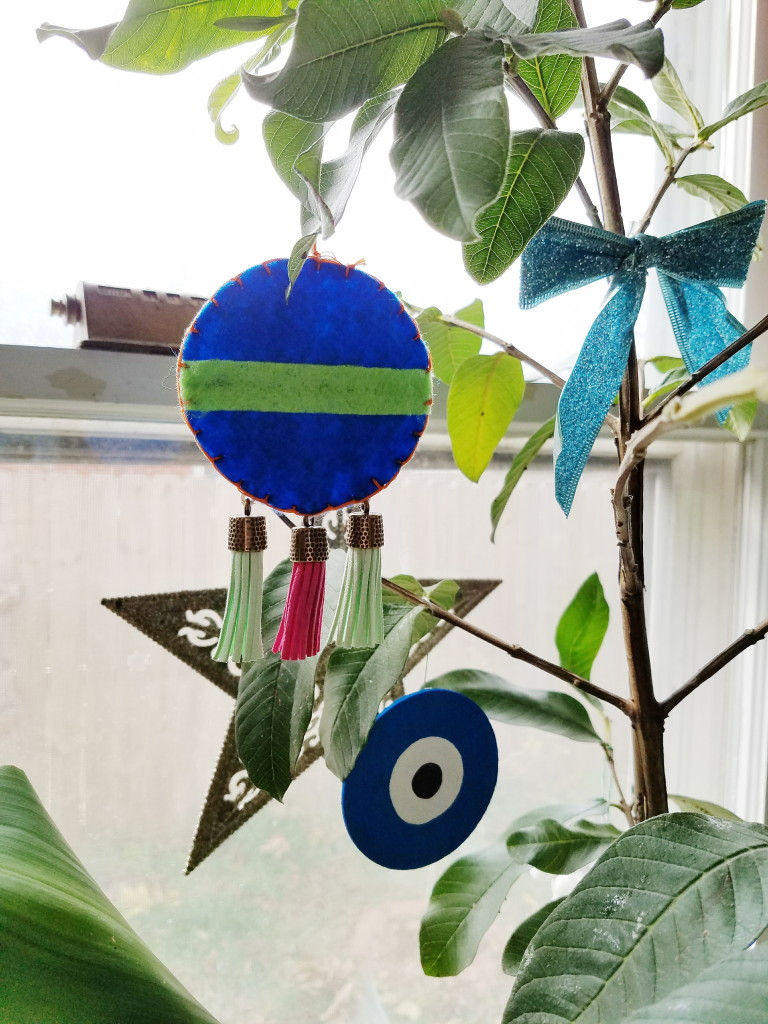 Mexican Felt DIY ornament tutorial with video!
