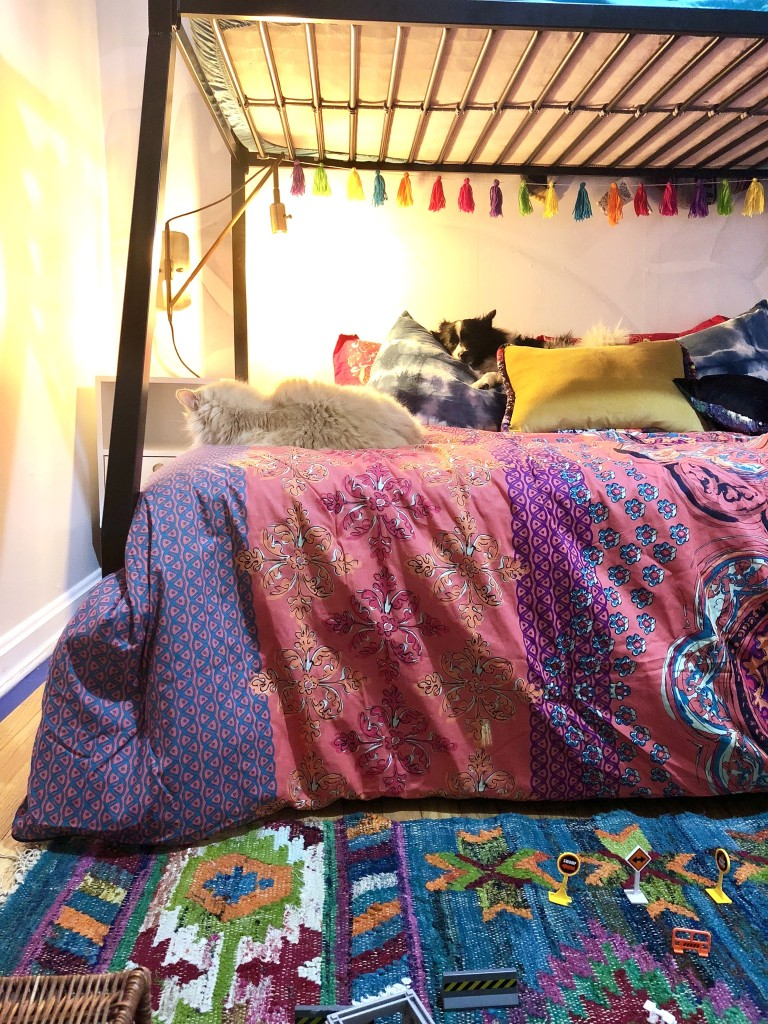 Picture of: Making The Bunk Bed A Focal Point A Designer At Home