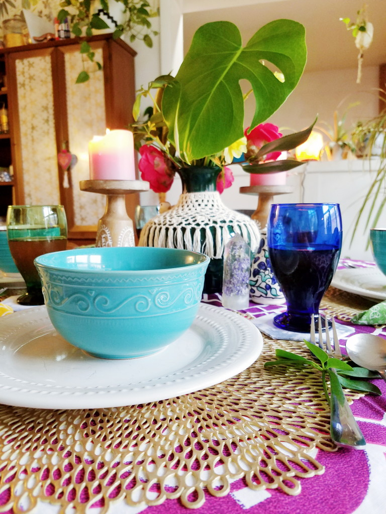 Budget Friendly spring tablescape