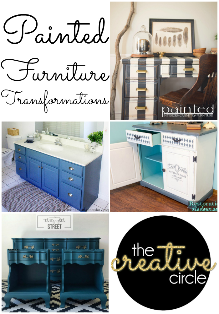 The Creative Circle- Painted Furniture Transformations features!